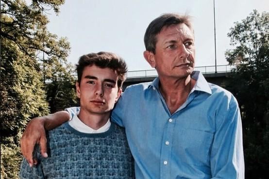 Sin predsednika Pahorja zapustil Slovenijo