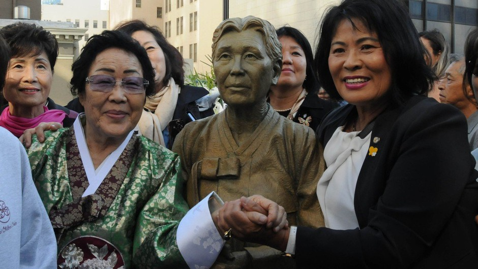 San Francisco razburil Japonce s spomenikom spolnim sužnjam (foto: profimedia)