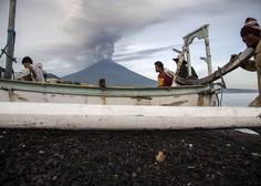 Na Baliju v strahu pred izbruhom vulkana odredili evakuacijo 100.000 ljudi