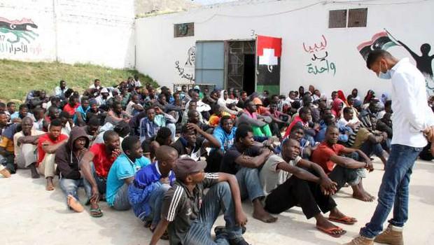 Vrh EU in Afriške unije v senci trgovine z ljudmi v Libiji (foto: xinhua/sta)