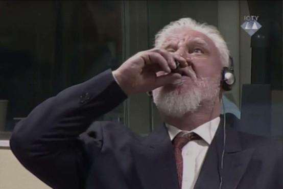 V Haagu nadaljevali in izrekli sodbe, mediji poročajo o smrti Praljaka