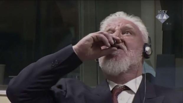 V Haagu nadaljevali in izrekli sodbe, mediji poročajo o smrti Praljaka (foto: STA)