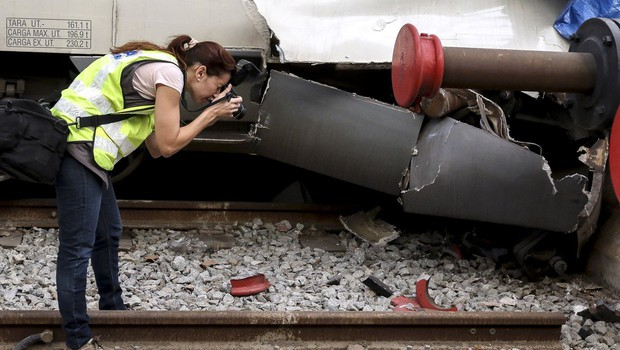 Več ranjenih v iztirjenju vlaka na jugu Španije (foto: profimedia)