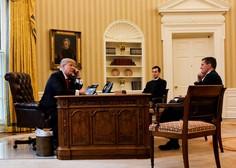 Trump v Beli hiši priredil praznično zabavo za novinarje, tudi za tiste iz 'lažnih medijev'!
