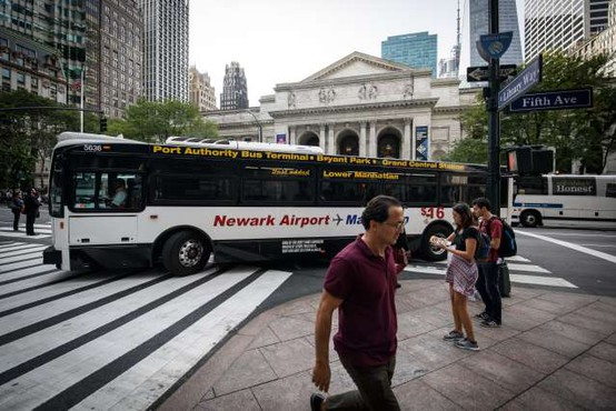Newyorška policija aretirala osumljenca za podtaknjeno bombo pod avtobusno postajo Port Authority
