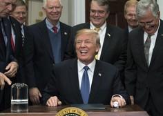 Donalda Trumpa pozivajo k odstopu zaradi spolnih nadlegovanj
