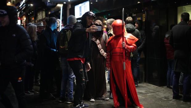 Na slovenska filmska platna prihaja film Vojna zvezd: Poslednji Jedi (foto: profimedia)