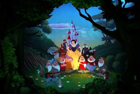 80 let od premiere Disneyjevega animiranega filma o Sneguljčici
