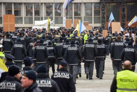 Policisti bodo stavkali 12. februarja!