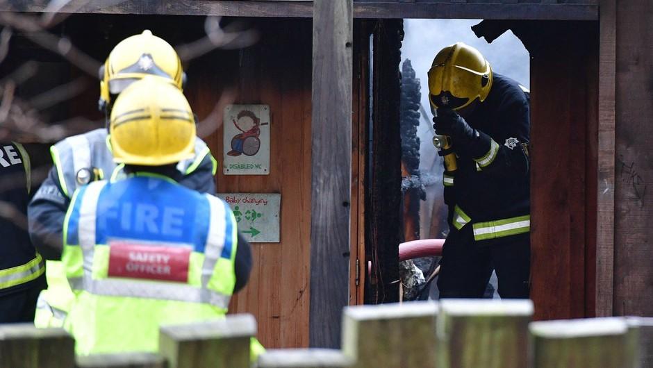 V živalskem vrtu v Londonu izbruhnil velik požar, živali niso bile ogrožene (foto: profimedia)
