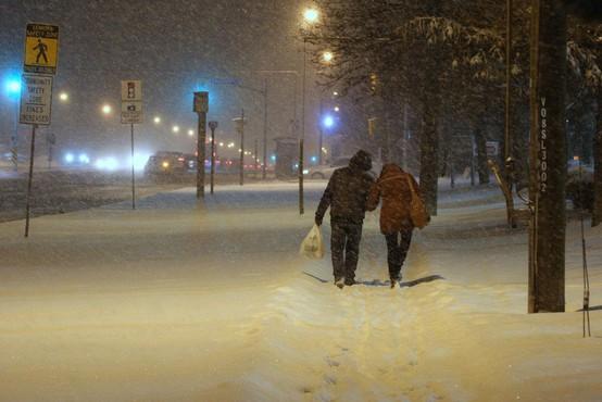 Kanado zajel val hudega mraza brez primere: Izmerili tudi do minus 50 stopinj Celzij!