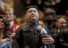 """Kim Jong-un voščil ZDA z besedami: """"Jedrski gumb je vedno na moji mizi!"""""""