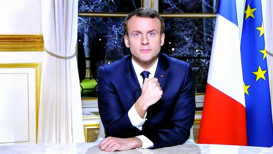 Macron z novo zakonodajo nad lažne novice, televizijo RT in agencijo Sputnik! (foto: profimedia)