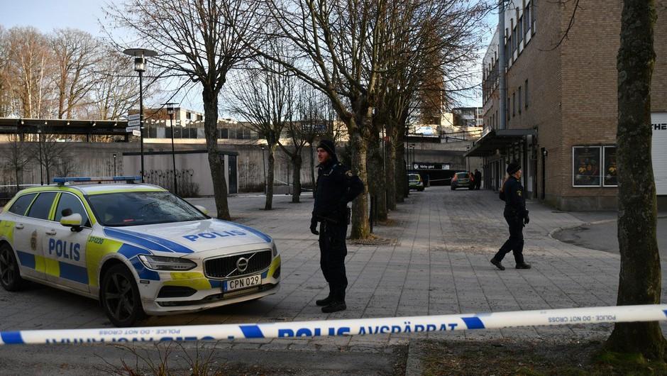 Eksplozija pred postajo podzemne železnice v Stockholmu verjetno ni teroristično dejanje (foto: profimedia)