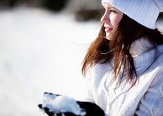Do torka bo po Sloveniji zapadlo od 5 do 15 centimetrov snega!