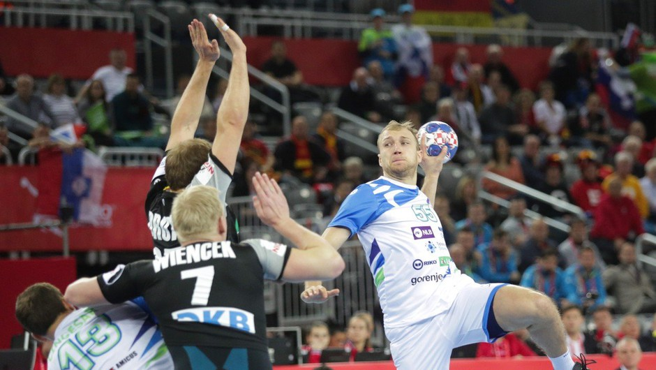 Slovenski rokometaši ostajajo na evropskem prvenstvu! (foto: profimedia)