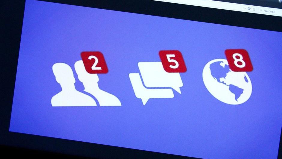 Facebook spet pod udarom zaradi kršenja zasebnosti uporabnikov (foto: profimedia)