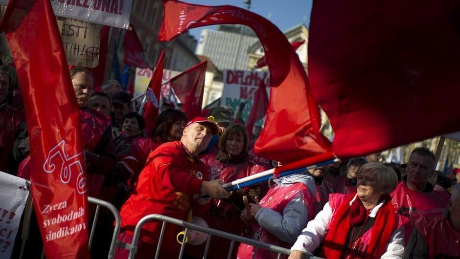 Javni sektor z zahtevami za boljše plače na ulico! (foto: profimedia)