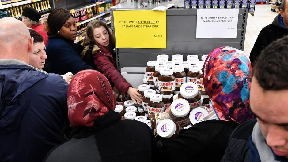 """Nutella orgija v Franciji: """"Ljudje so planili v trgovine in odrivali vse, kar jim je prišlo na pot!"""" (foto: profimedia)"""