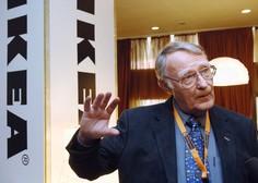 Umrl je ustanovitelj Ikee Ingvar Kamprad