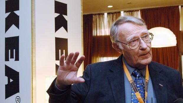 Umrl je ustanovitelj Ikee Ingvar Kamprad (foto: profimedia)