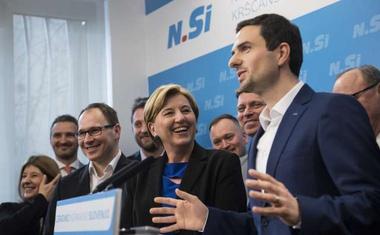 """Matej Tonin po prevzemu vodenja NSi: """"Zdaj je čas za mlajšo generacijo!"""""""