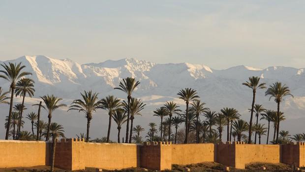 Bizarno vreme: V Maroku je po 50 letih ponovno snežilo! (foto: profimedia)