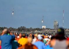 Space X z raketo Falcon Heavy poslal v vesolje avtomobil