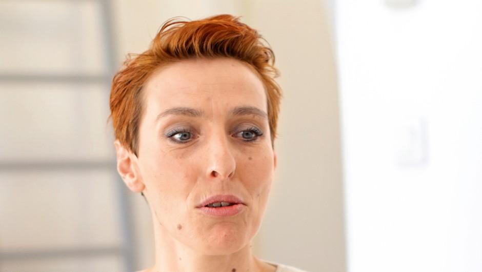 Psihologinja Špela Reš o posledicah zasvojenosti s spletnimi vsebinami (foto: Goran Antley)