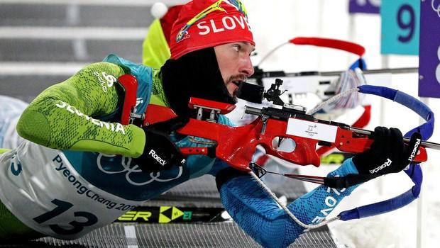 Jakov Fak srebrn za Slovenijo v Pyeongchangu! (foto: profimedia)