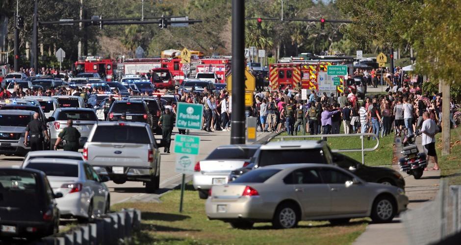 V streljanju na floridski srednji šoli najmanj 17 mrtvih, 19-letnega strelca prijeli! (foto: profimedia)
