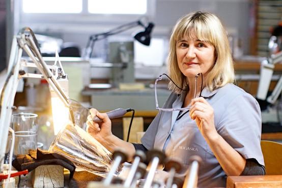 Graverka Anica Trunk je ponosna na svoje delo!