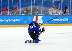 Hokejist Žiga Jeglič pozitiven na dopinškem testu na ZOI v Pyeongchangu