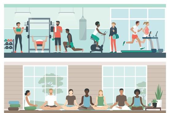 V zapuščeni ljubljanski Modni hiši bo po novem fitnes center