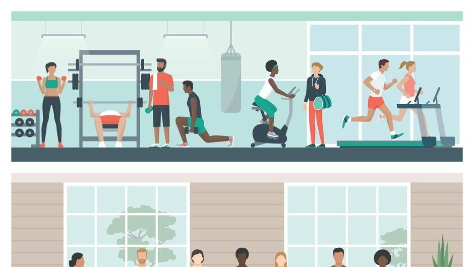 V zapuščeni ljubljanski Modni hiši bo po novem fitnes center (foto: profimedia)