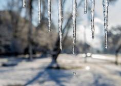 Slovenijo zajela zelo hladna zračna fronta, ki bo vztrajala do četrtka!