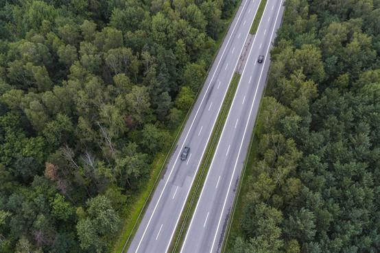 Avtoceste v hrvaški Istri nadzirajo z dronom