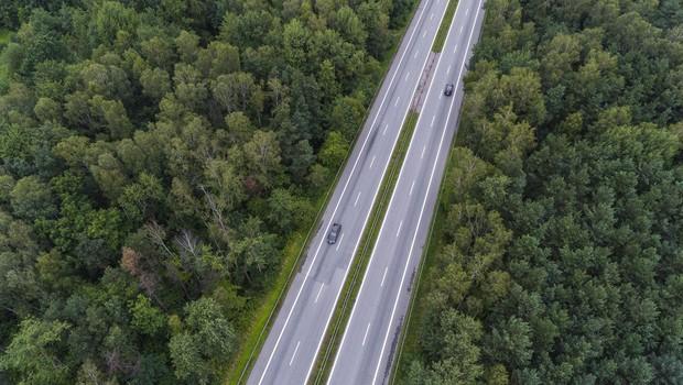 Avtoceste v hrvaški Istri nadzirajo z dronom (foto: profimedia)