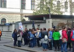 Učitelji in vzgojitelji na protestnih shodih po Sloveniji!