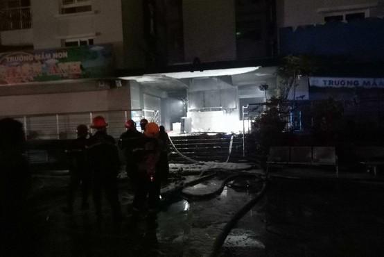 V požaru stanovanjske stolpnice v vietnamskem Hošiminhu več mrtvih!