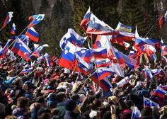 Slovenski orli tretji na ekipni tekmi v Planici, zmaga Norveški!