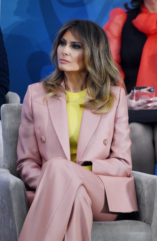Melania Trump glavna govornica na podelitvi mednarodnih nagrad pogumnim ženskam (foto: profimedia)