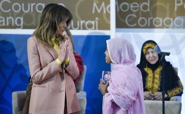 Melania Trump glavna govornica na podelitvi mednarodnih nagrad pogumnim ženskam