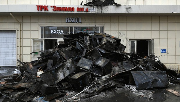 Požar v nakupovalnem središču v Sibiriji zahteval več kot 60 življenj (foto: profimedia)