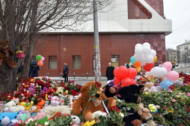 V trgovskem centru v Sibiriji je umrlo kar 41 otrok (foto: profimedia)