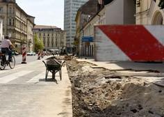 Gosposvetska cesta in Dalmatinova ulica v Ljubljani s popolno zaporo do 30. junija!