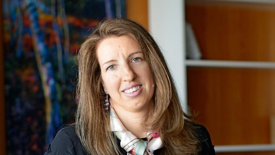 Dr. Sara Brezigar: Če imaš pri vodenju stvari urejene, potem nimaš  posebnih težav pri motivaciji (foto: Goran Antley)