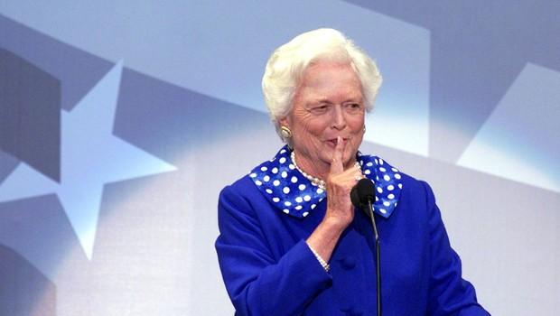 Umrla je nekdanja prva dama ZDA Barbara Bush (foto: profimedia)