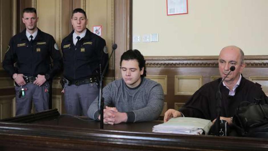 Sodni epilog uboja igralca Gašperja Tiča (foto: STA, Daniel Novakovič)