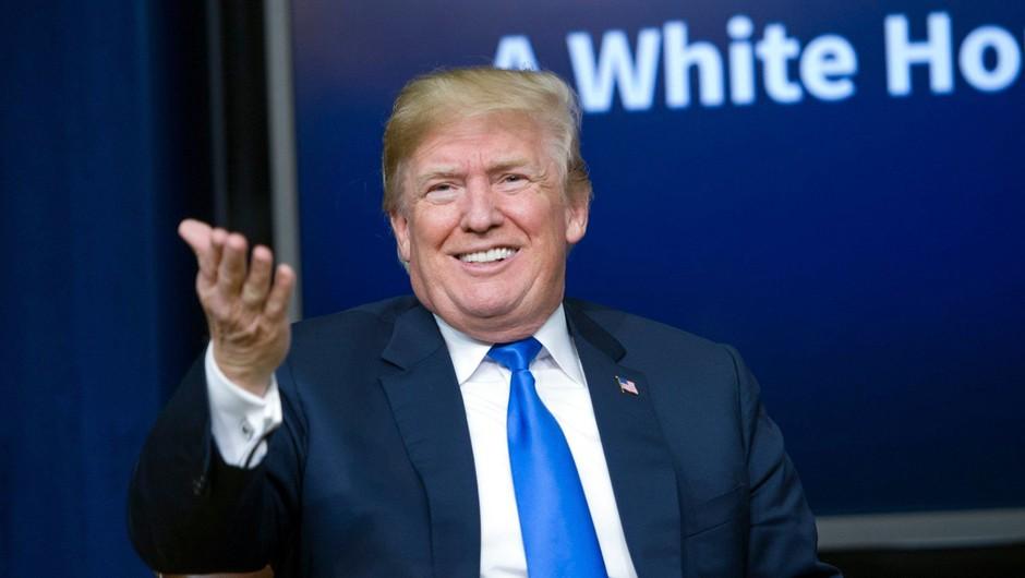 Donald Trump pod lažnim imenom klical revijo Forbes in jim razlagal o svojem premoženju (foto: Profimedia)